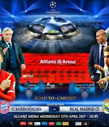 Бајерн Минхен 1 – 2 Реал Мадрид